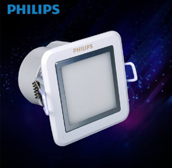 Philips LED Down Light 2.5 inch 3.5 W,3 inch 4.5W,3.5 inch 7W,4 inch 9W square down light